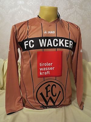 Wacker Innsbruck Football Shirt 3Rd 2011 2012 Long Sleeves Xs/s Gold New Rare