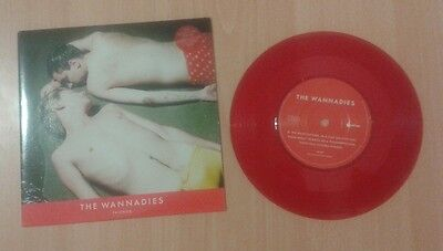 "THE WANNADIES  7"" red vinyl  FRIENDS Ultra Rare 1996 Indolent Records (no CD EP)"