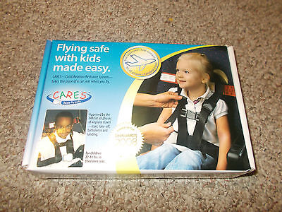 CARES Kids Fly Safe Airplane Harness and red travel Bag