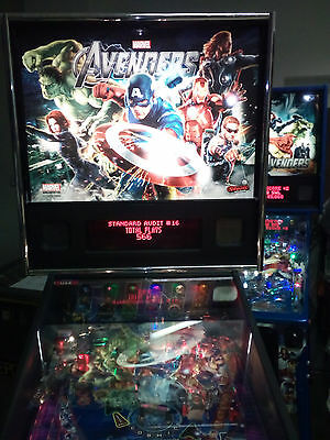 The Avengers Pro Pinball Machine in Excellent Condition