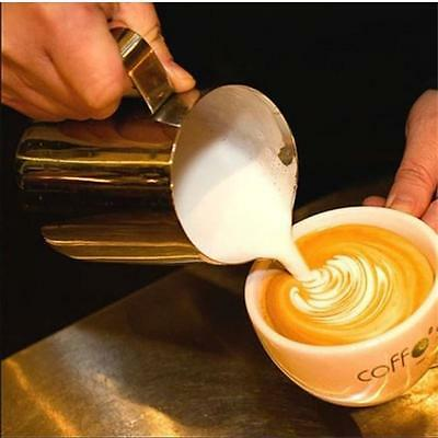 Practical 100/150/350ML Stainless Steel Coffee Shop Small Milk Cream Cup Jug T