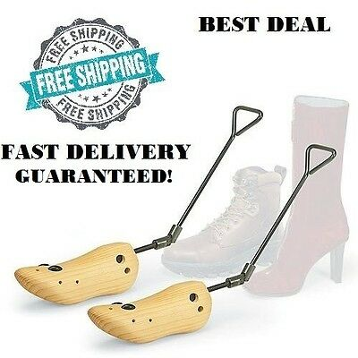 Boot Stretcher Women Wood Shaper Western Cowboy Adjustable Bunions Corns New
