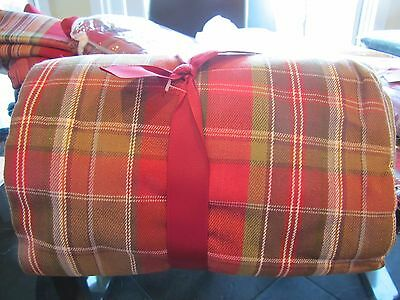 Pottery Barn Tahoe  tablecloth  Christmas Holiday 70 X 108  New without tag