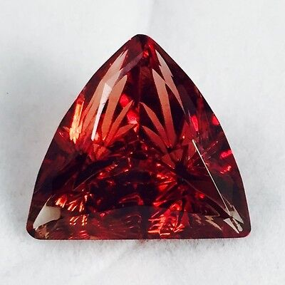 AAA Carved Red Oregon Sunstone, *WOW-See Video!* Fantasy Cut, 10.64 ct (R128TB)