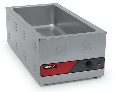 Nemco 6055A-43 Counter Top Food Warmer For 4/3 Size Pan 1500W