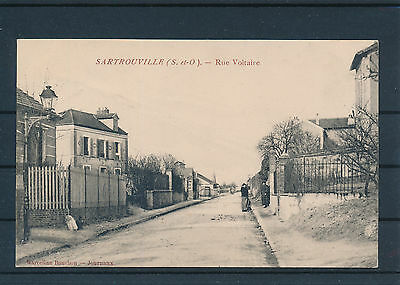 [CPA135] Sartrouville  - rue Voltaire