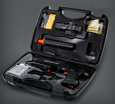 A new firing system WITH water crystal ammo  bullets,WITH hard plastic gunCASE