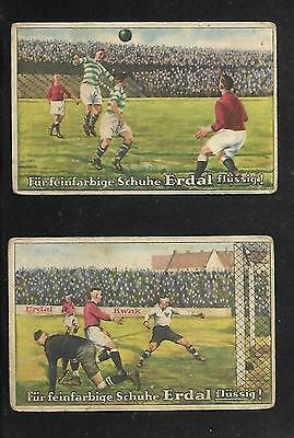 Germany-Old Soccer-Futbol-Football- Cards Lot-See Images !! Rrr