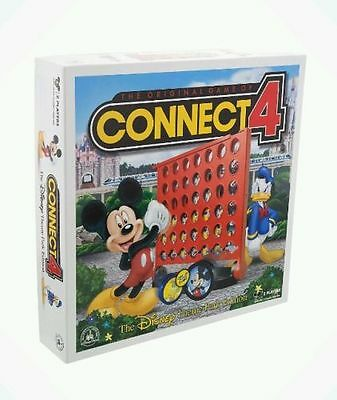 Disney Parks Connect 4 Theme Park Edition Board Game New