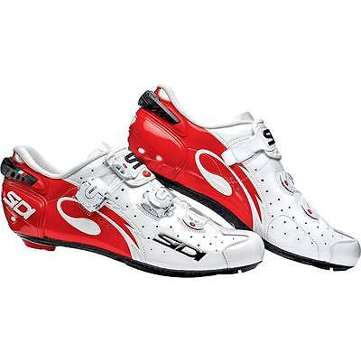 Chaussures SIDI Wire Carbon Rouge Blanc verni - pointure: 41