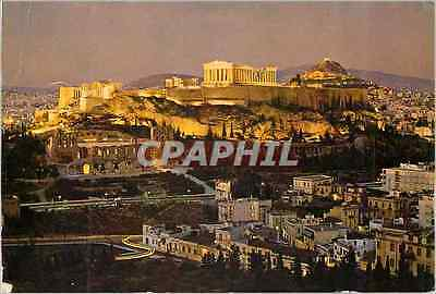 CPM Athens The Acropolis Illumineted at night