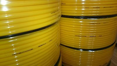 Brand new yellow motorbike fuel hoses & carburettor pipes 5MM ID 8MM OD 99P/M