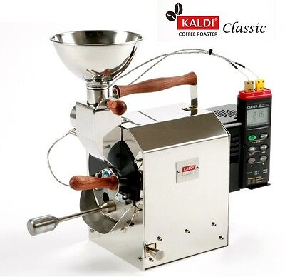 KALDI CLASSIC Coffee Bean Roaster Professional for Home & Cafe Capa 400g DIY