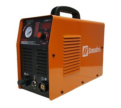 "SIMADRE PLASMA CUTTER BRAND NEW 50RX 50A 110V/220V w POWER TORCH 1/2"" CLEAN CUT"