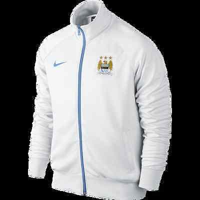 New NIKE Manchester City FC Core Trainer Men's Football Jacket/soccer top/zipped