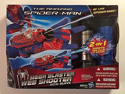 The Amazing Spider-Man Mega Blaster Web Shooter with Glove NEW in BOX