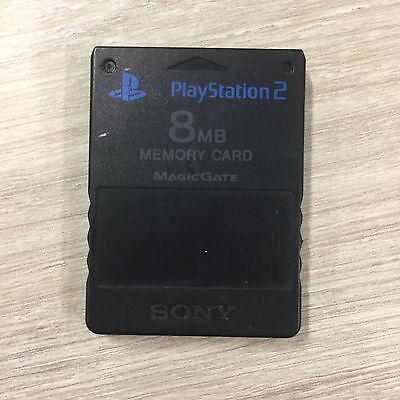 Genuine Sony PlayStation 2 8MB Memory Card PS2