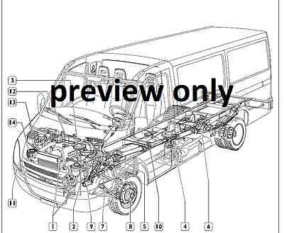 iveco daily 2006-2011 4th generation workshop manual cd