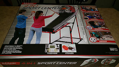 Majik 4-In-1 Basketball, Football, Baseball & Soccer Sport Center - Brand NEW