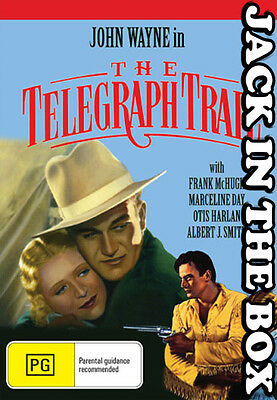 The Telegraph Trail DVD NEW, FREE POSTAGE WITHIN AUSTRALIA REGION ALL