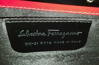 1f07b08e4ec NWT  4,800 SALVATORE Ferragamo Medium Fiamma Stingray Calfskin ...