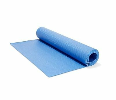 New Yoga Pilates Exercise Gym Mat Non Slip in Blue 3mm Thick Use Outdoor Indoor