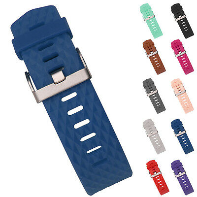 Replacement Wrist Band Bracelet Wristband With Metal Buckle For Fitbit Charge 2