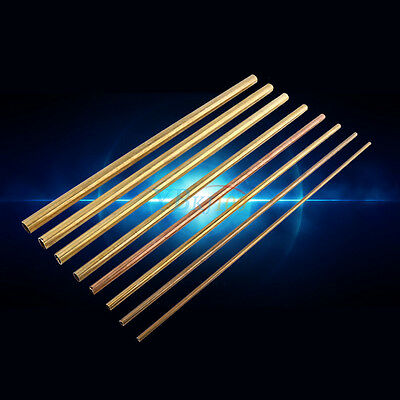500mm Brass Pipe Copper Tube Round Bar / Rod 6-20mm for Transfering Modelmaking