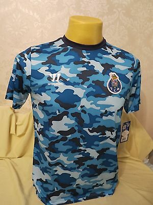 Fc Porto Football Shirt Training 2014 2015 Warrior Sb Rare Blue Boys 7/8Y