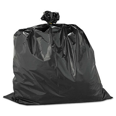 Warp's Heavyweight Contractor Bags, 33 x 40, 33gal, 2.50mil, Black, 60/Box