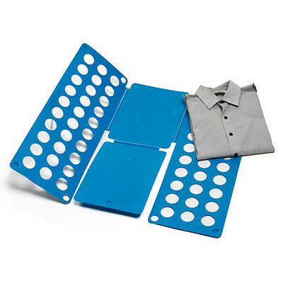 Home Magic Laundry Fast Speed Folder Clothes T-Shirt Fold Board Easy to Use