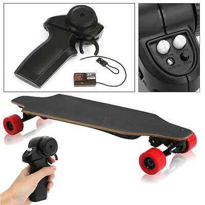 2.4GHz Radio Remote Controller, Receiver, Binding Plug For Electric Skateboard