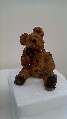 Boyds Bears resin sculpture, Humboldt...The Simple Bear, No:227703RS