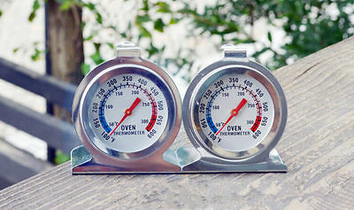New Home Stainless Steel Temperature Oven Thermometer Gauge Kitchen Food