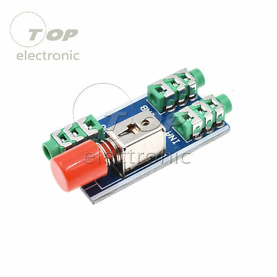 Audio Switching Board audio input 3.5mm A / B Group input Switch Select output