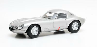 "Jaguar E-type Low Drag Coupé ""Silver"" 1963 (Cult Models 1:18 / CML009-1)"
