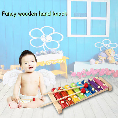 Hand Knock Wood Piano Kids Toy Xylophone Music Rhythm Learnin In Advance GT
