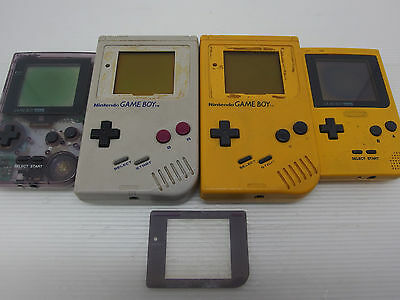Nintendo Gameboy Original Fat Console systems Lot of 4 Untested As Is Japan