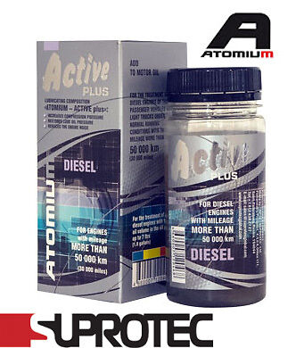 UK SHIPPING ATOMIUM Active (Diesel) Plus  Suprotec additive lubricant