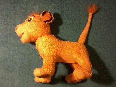 the lion king my singing simba 14 inches sings does not dance good condition