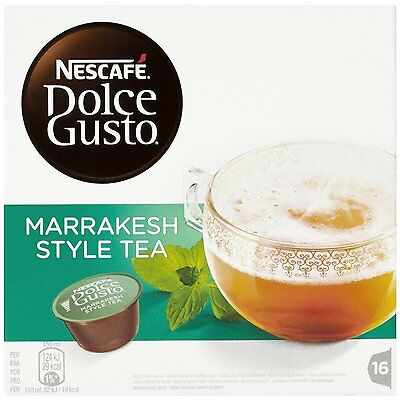 Dolce Gusto Marrakesh Coffee (6 Boxes,Total 96 Capsules ) 96 Servings