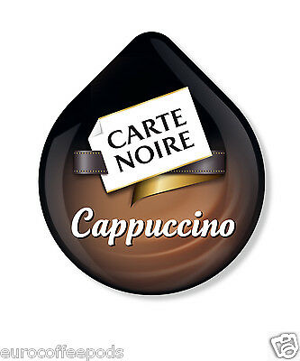 Tassimo Carte Noire Cappuccino Coffee, 24 T Discs 12 Servings, Sold Loose
