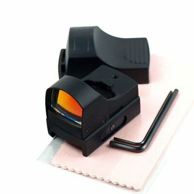 20mm Rail Tactical Red Dot Sight Holographic Reflex Scope for Rifle & Pistol