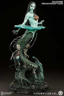 Gallevarbe Court of the Dead Deaths Siren Horror 1/4 Format Statue Sideshow