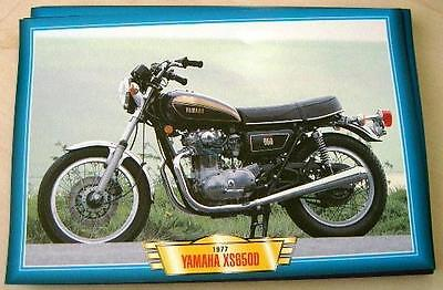 Yamaha Xs650 Xs 650 D Vintage Classic Motorcycle Bike 1977 Picture Print 1970's
