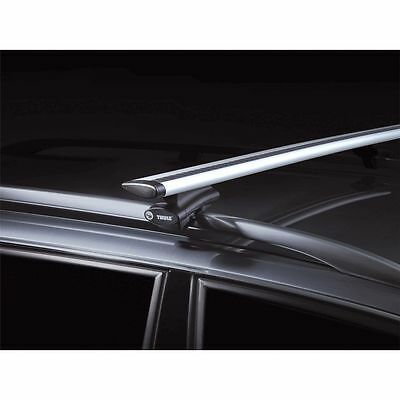 Barre portatutto auto Thule Wing Bar 1270mm PORTAPACCHI RISPARMIA CARBURANTE NEW