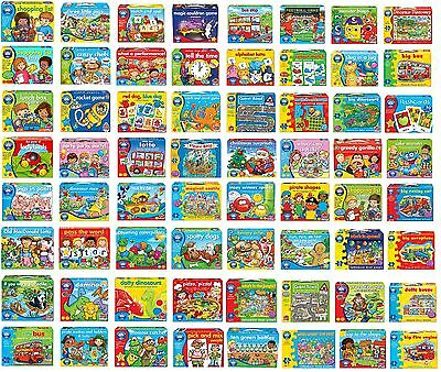 Orchard Toys Massive Collection Board Games Flash Cards Play and Learn or Puzzle