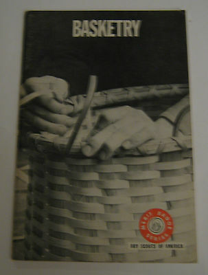 Boy Scouts of America BSA Basketry Merit Badge Series 1966 No. 3313