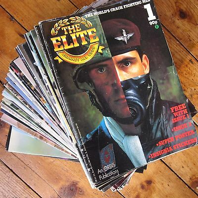 The Elite Vintage Military / Special Forces Magazine Collection Orbis 73 Issues