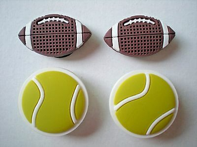 Jibbitz Croc Clog Charms Fit Sandal Wristbands Holey Accessories 2 Sport Balls